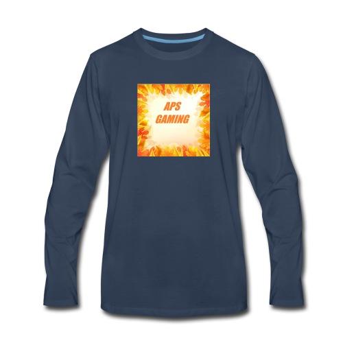 APS_Gaming - Men's Premium Long Sleeve T-Shirt