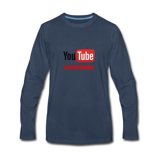 YouTube ZzasserGaming - Men's Premium Long Sleeve T-Shirt