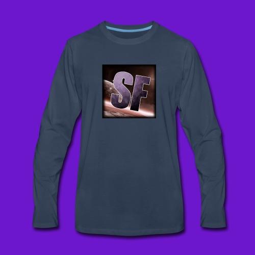 The SF logo - Men's Premium Long Sleeve T-Shirt