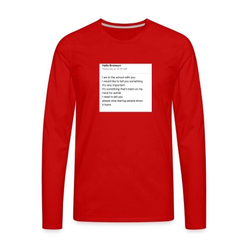 Yowza - Men's Premium Long Sleeve T-Shirt