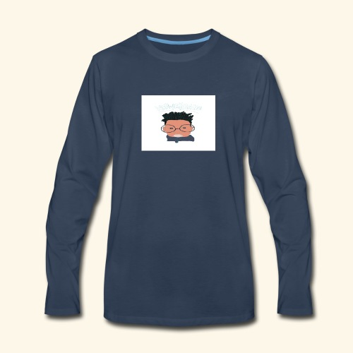 weiweigang logo edit - Men's Premium Long Sleeve T-Shirt