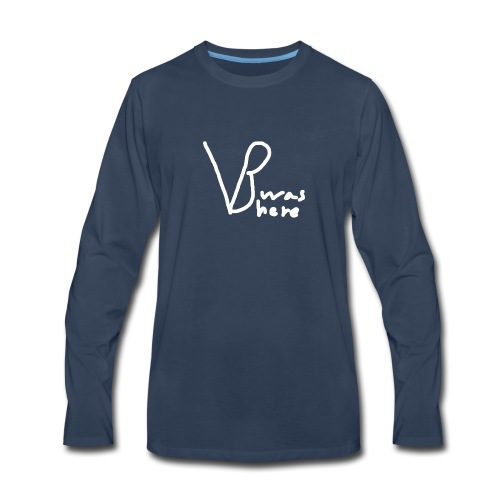 VB Was Here - Men's Premium Long Sleeve T-Shirt
