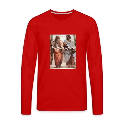 OG Simple Sages - Men's Premium Long Sleeve T-Shirt