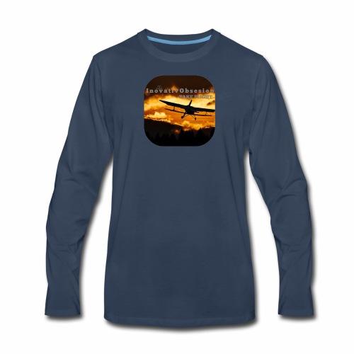 "InovativObsesion ""TAKE FLIGHT"" apparel - Men's Premium Long Sleeve T-Shirt"