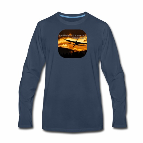"InovativObsesion ""TAKE FLIGHT"" apparel - Men's Premium Long Sleeve T-Shirt"
