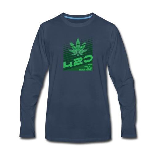 420 grow the economy 2018 - Men's Premium Long Sleeve T-Shirt
