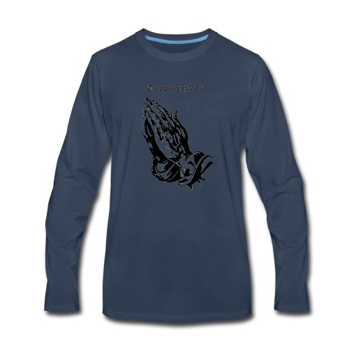 throwinghands - Men's Premium Long Sleeve T-Shirt