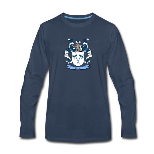 Eccles Family Crest - Men's Premium Long Sleeve T-Shirt