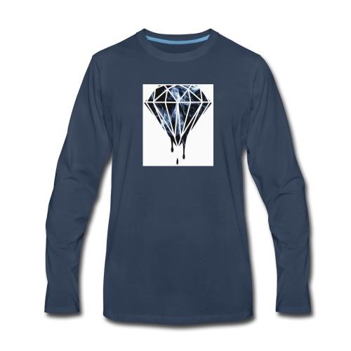 Savage Max101 white long sleve - Men's Premium Long Sleeve T-Shirt