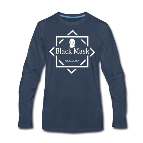 Hipster White - Men's Premium Long Sleeve T-Shirt
