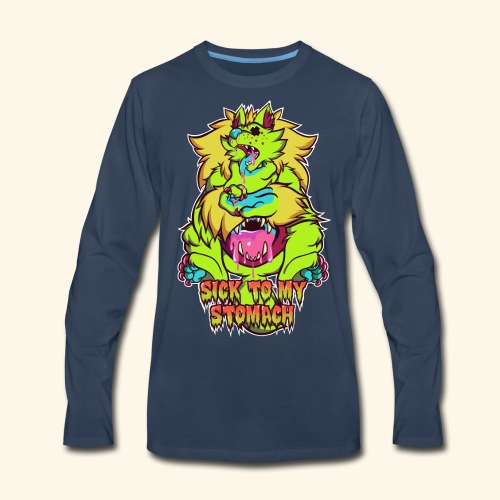 - Sick To My Stomach - - Men's Premium Long Sleeve T-Shirt