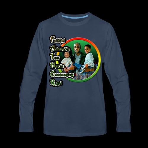 Father 01 - Men's Premium Long Sleeve T-Shirt