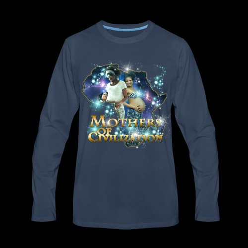 Mothers of Civilization - Men's Premium Long Sleeve T-Shirt
