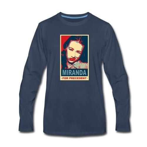 Miranda Sings Miranda For Precedent - Men's Premium Long Sleeve T-Shirt