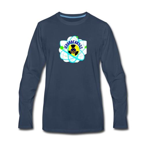 Jerrrbear Logo - Men's Premium Long Sleeve T-Shirt