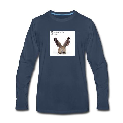 Drama Meme - Men's Premium Long Sleeve T-Shirt