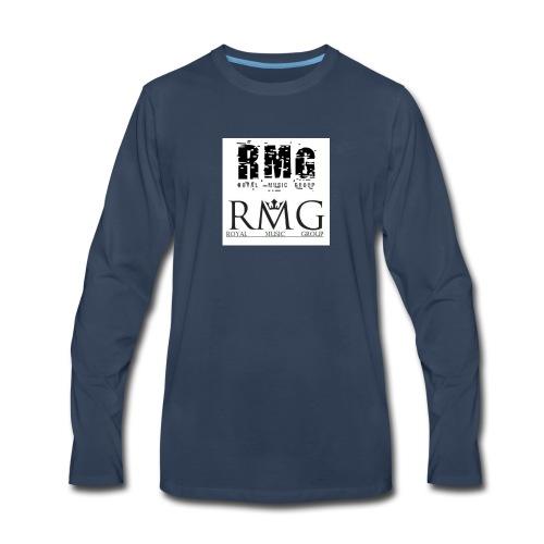 R.M.G.(Royal Music Group) - Men's Premium Long Sleeve T-Shirt