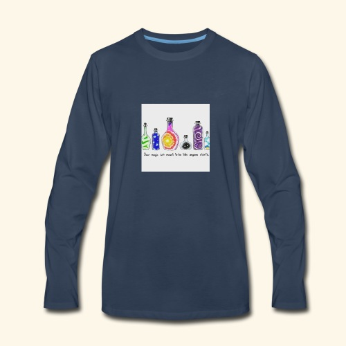 Unique - Men's Premium Long Sleeve T-Shirt
