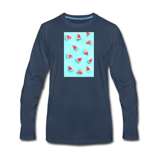 44cf5e38127bd708b4bf07441f48330c cell phone wallp - Men's Premium Long Sleeve T-Shirt