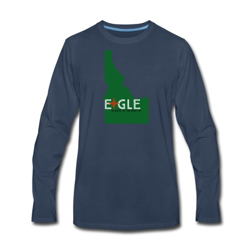 Eagle Idaho - Men's Premium Long Sleeve T-Shirt