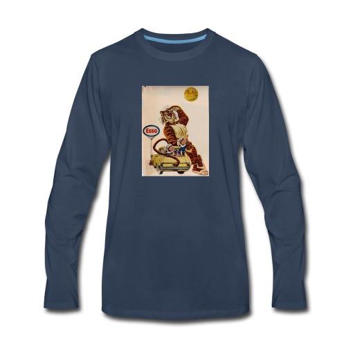 48d538beb72153486dfd2e84c5050151 stuffed tiger ol - Men's Premium Long Sleeve T-Shirt