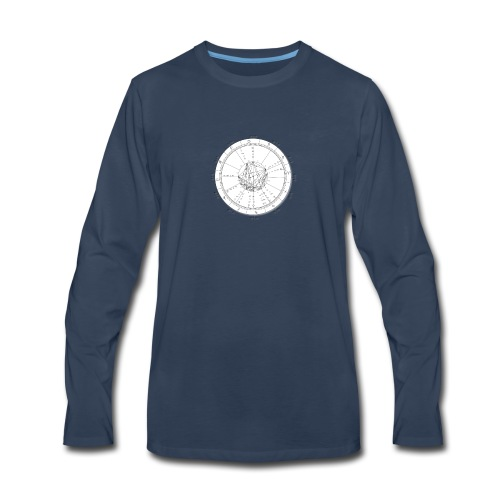 Electional Astrology - Men's Premium Long Sleeve T-Shirt