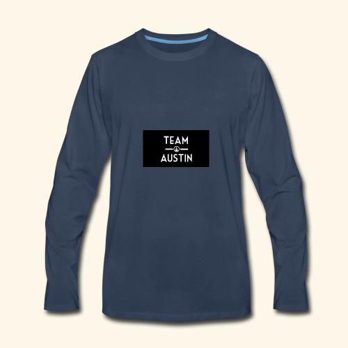 Team Austin Youtube Fan Base - Men's Premium Long Sleeve T-Shirt