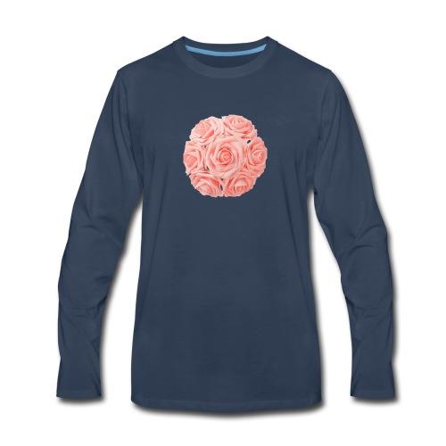 Royal Rose - Men's Premium Long Sleeve T-Shirt