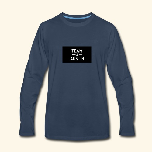 Team Austin Youtube Fan Base - Men's Premium Long Sleeve T-Shirt