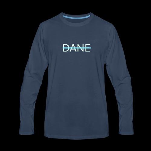 Dane logo shirt - Men's Premium Long Sleeve T-Shirt