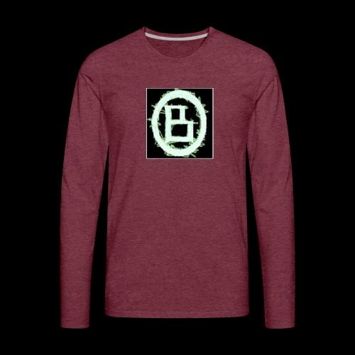 The BD Logo - Men's Premium Long Sleeve T-Shirt