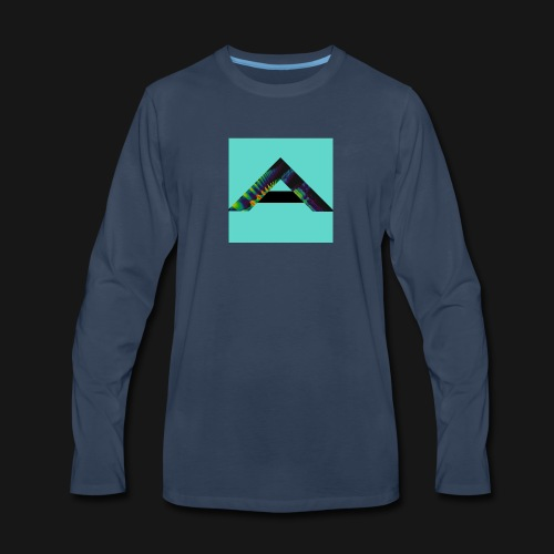 Aurora Logo - Men's Premium Long Sleeve T-Shirt