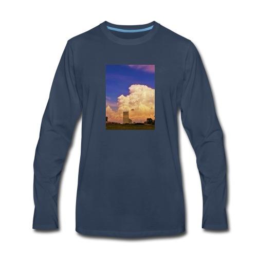 stormy elevator - Men's Premium Long Sleeve T-Shirt