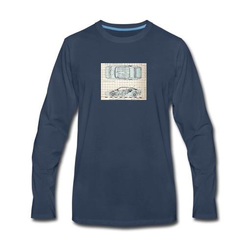 drawings - Men's Premium Long Sleeve T-Shirt