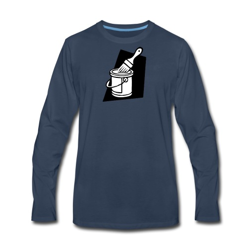 paintbrush - Men's Premium Long Sleeve T-Shirt