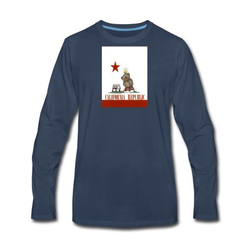 Lucky Number7 California Teddy NO Gunja Leaf - Men's Premium Long Sleeve T-Shirt