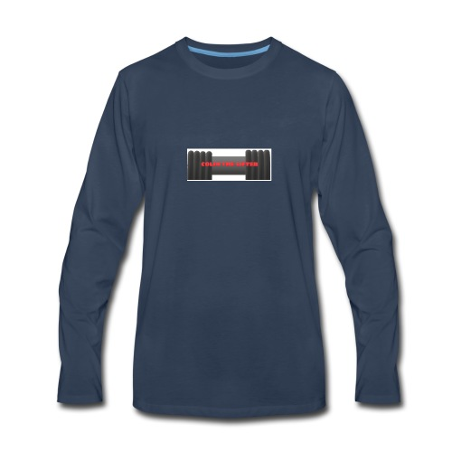 colin the lifter - Men's Premium Long Sleeve T-Shirt