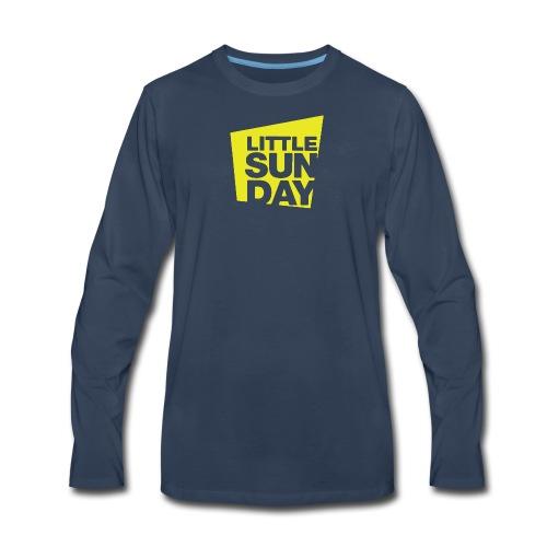 littleSUNDAY Official Logo - Men's Premium Long Sleeve T-Shirt