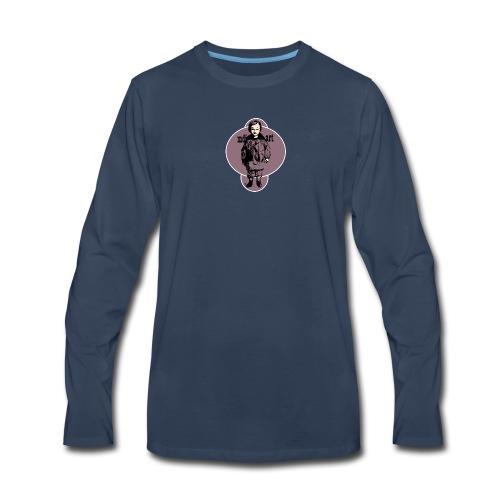 mdj art cool kid - Men's Premium Long Sleeve T-Shirt