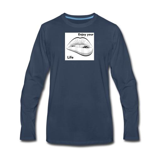 Enjoy your life - Men's Premium Long Sleeve T-Shirt
