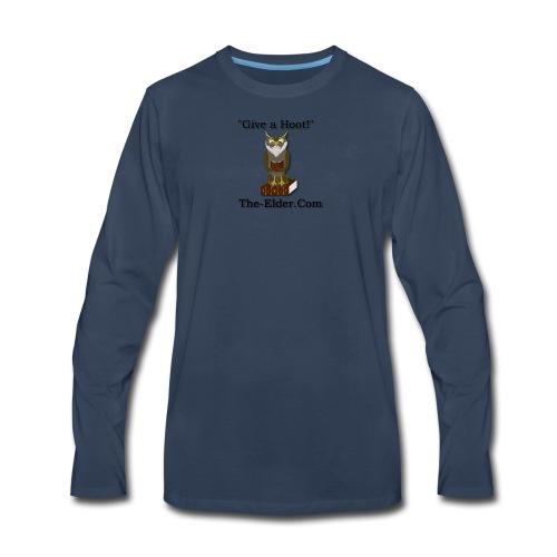 Give a Hoot - Men's Premium Long Sleeve T-Shirt