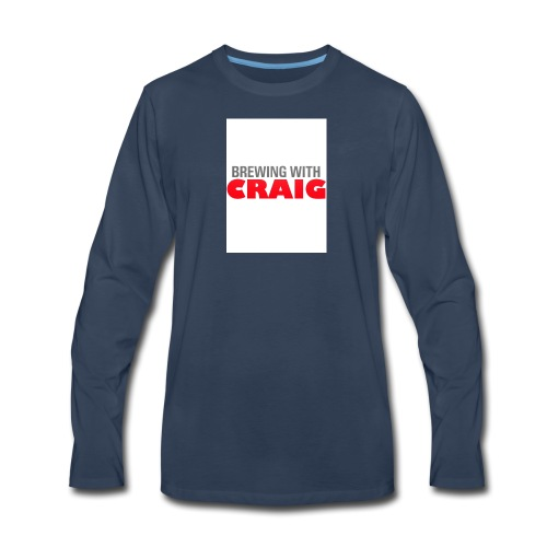 Brewing With Craig - Men's Premium Long Sleeve T-Shirt