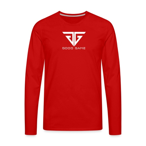 GG Logo - Men's Premium Long Sleeve T-Shirt