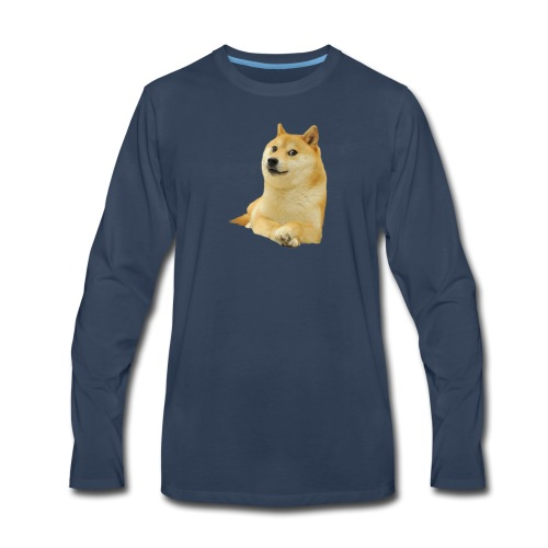 doge - Men's Premium Long Sleeve T-Shirt
