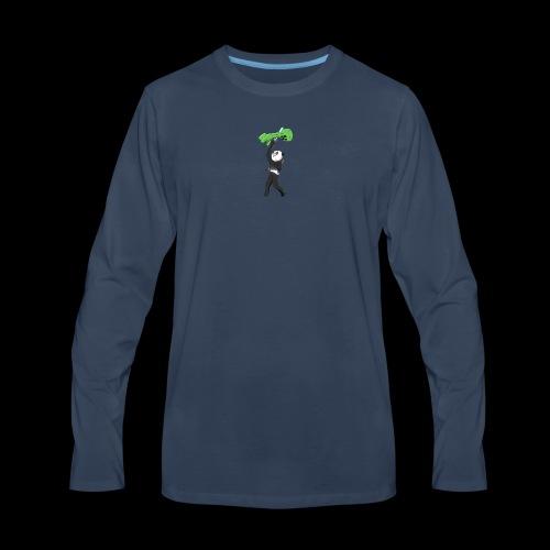Cool Mine Craft Design - Men's Premium Long Sleeve T-Shirt
