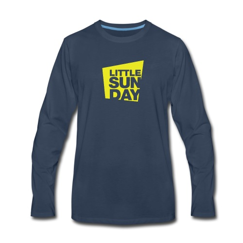 littleSUNDAY Official Logo - Men's Premium Long Sleeve T-Shirt
