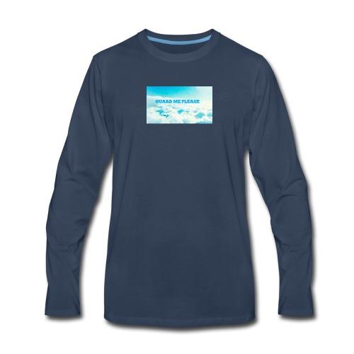 Guard Me Please - Men's Premium Long Sleeve T-Shirt