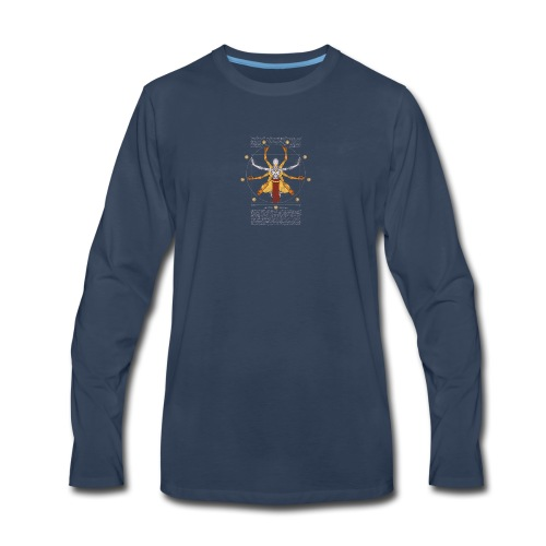 Vitruvian Omnic - Men's Premium Long Sleeve T-Shirt