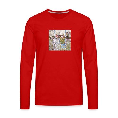 Do The Dab x2 - Men's Premium Long Sleeve T-Shirt
