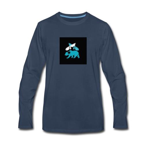 skateboard design - Men's Premium Long Sleeve T-Shirt